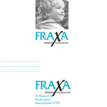 FRAXA Donation Envelope - support Fragile X research