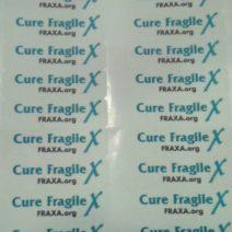 Fragile X Labels- 2013