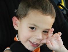 Mason Miller has fragile X syndrome