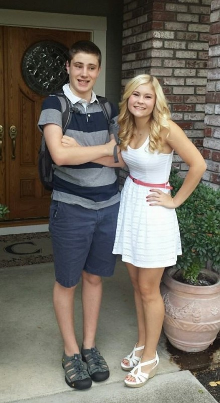 Courtney and Lucas Clark