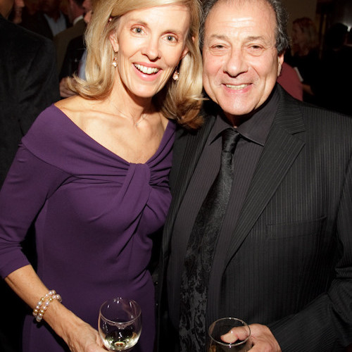 Debbie Stevenson, FRAXA Board Chair, and Dan Grimaldi, Actor