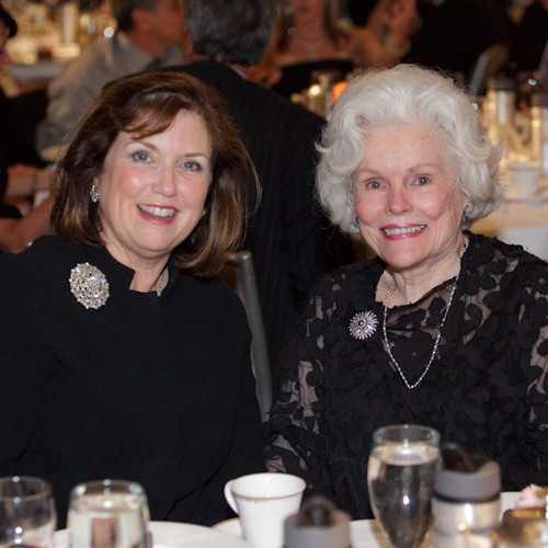 Mary Jane Clark, Author, and Doris Buffett, Philanthropist