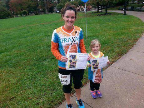 FRAXA womens running shirt for Fragile X