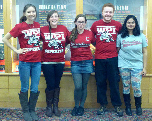 Students at WPI helping FRAXA Research Foundation