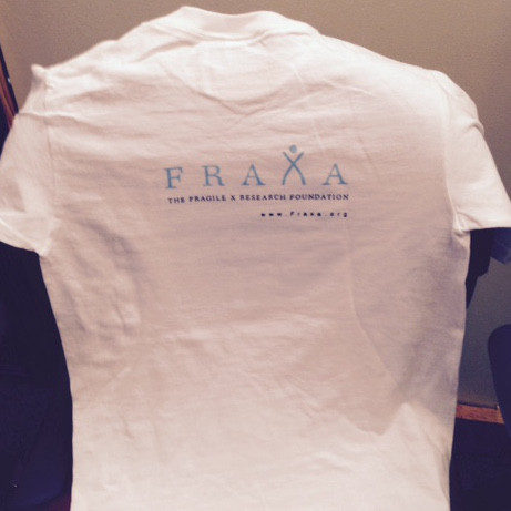 FRAXA Fragile X mouse shirt