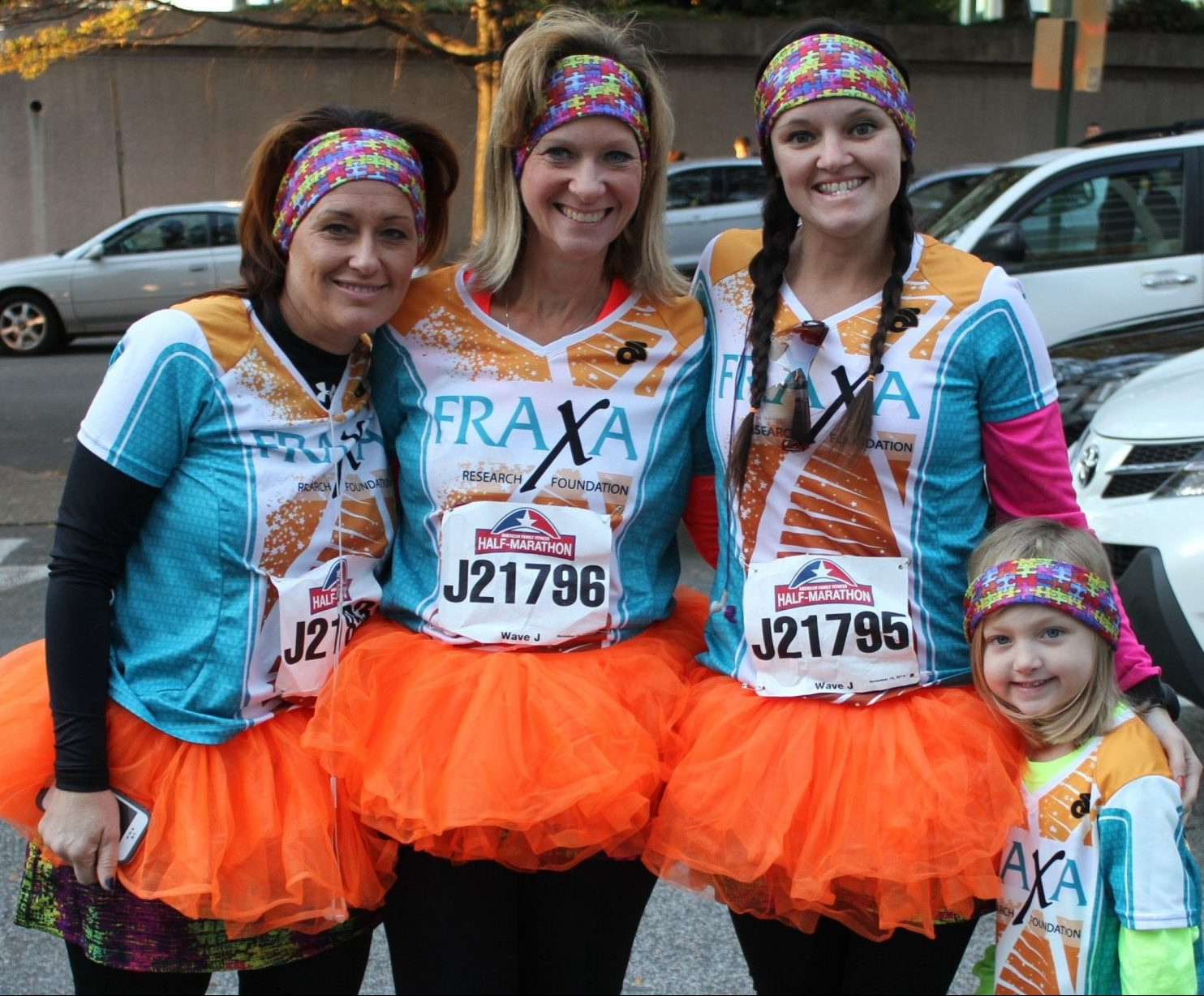 Friends of FRAXA running for Fragile X research
