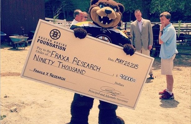 Boston Bruins Grant Funds New Fragile X Research