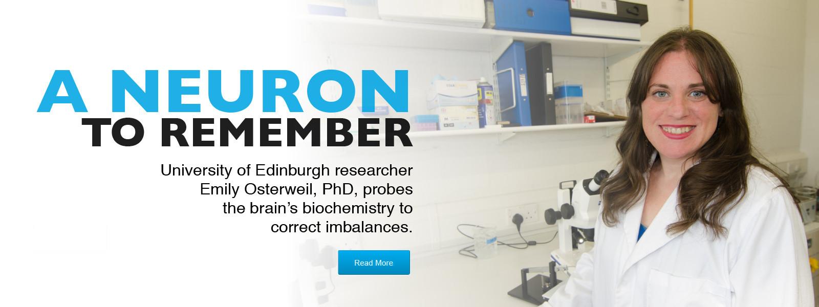 fragile X syndrome - University of Edinburgh researcher studies neurons