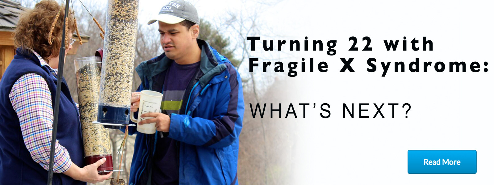 Fragile X adults - what's next?