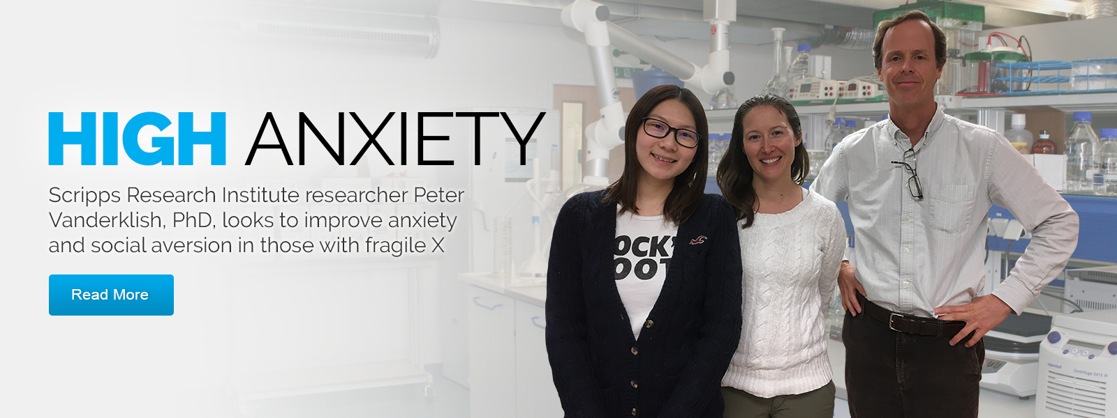 Fragile X researchers tackle Anxiety