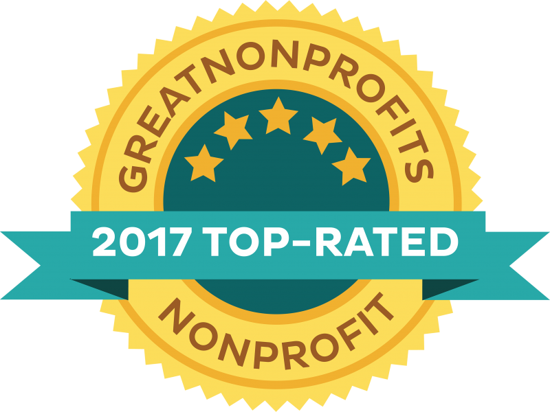 Great Nonprofits - 2017 top rated award - FRAXA Fragile X Research