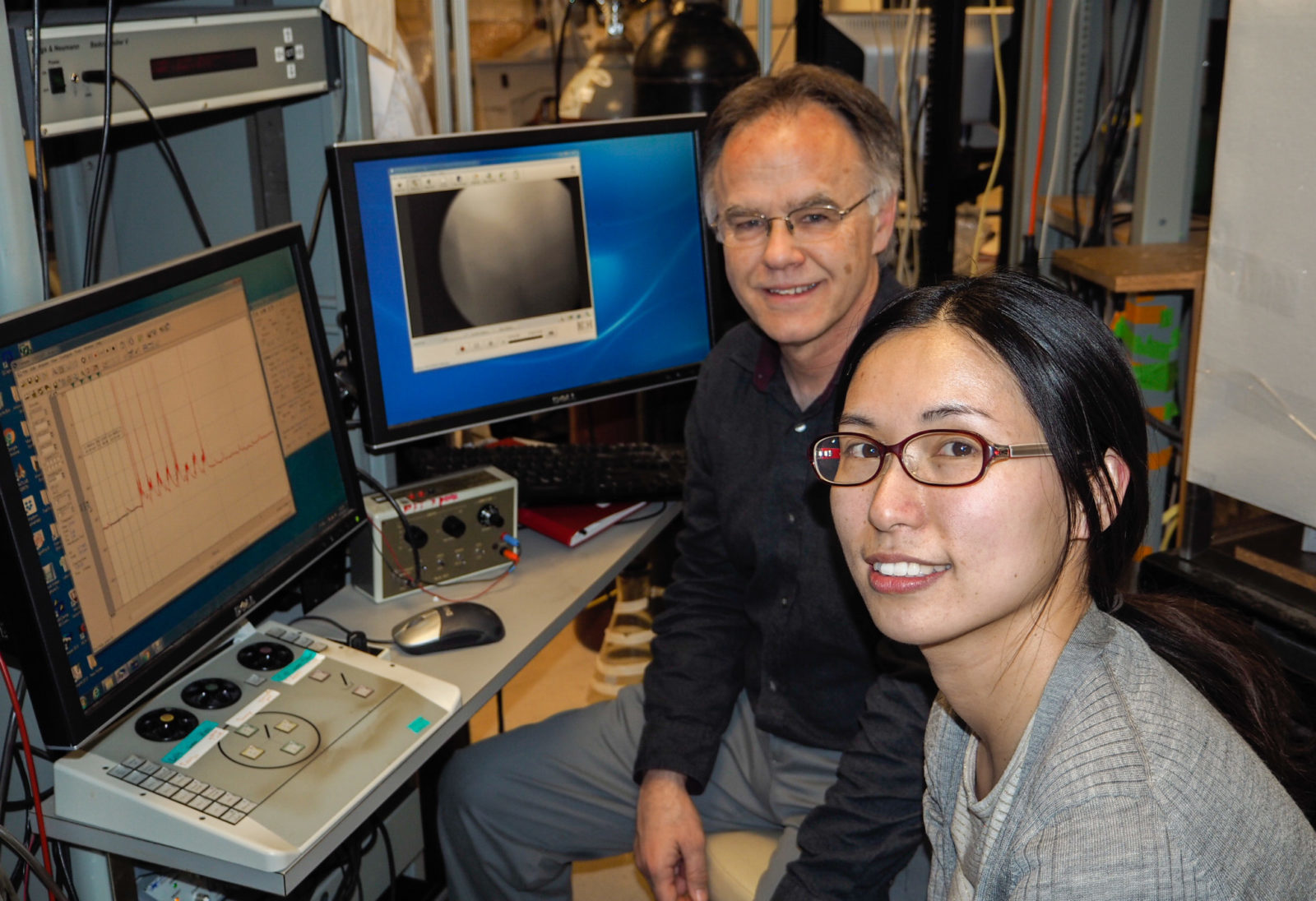 Ray Turner, PhD and Xiaoqin Zhan, PhD