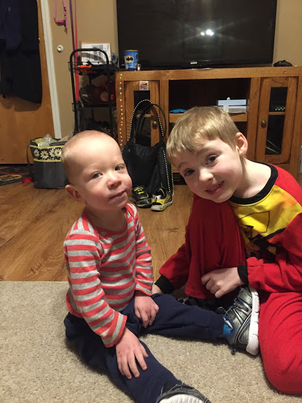 Lincoln and Liam