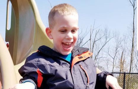 Drew Zachary Wieber, 8, of Taylor Mill, KY