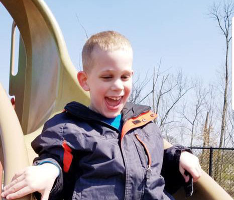 Drew Zachary Wieber, 8, of Taylor Mill, KY