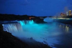 Niagara Falls goes teal for Fragile X