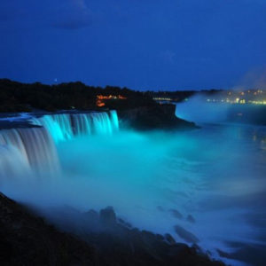 Niagara Falls goes teal for Fragile X