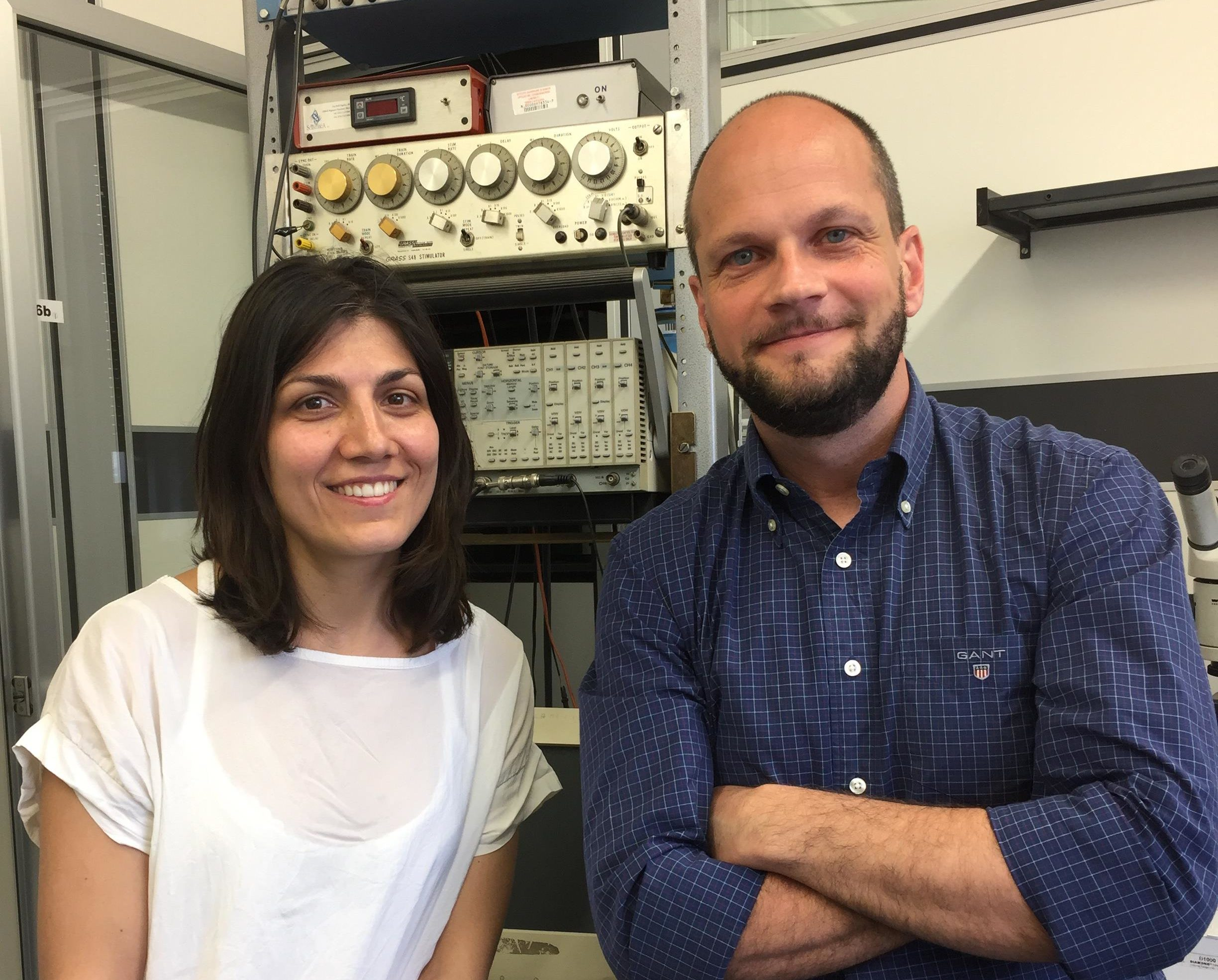 Antonella Borreca, PhD, and Alberto Martire, PhD
