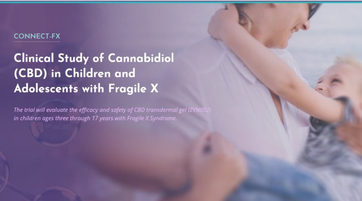 Clinical Study of Cannabidiol (CBD) in Children and Adolescents with Fragile X