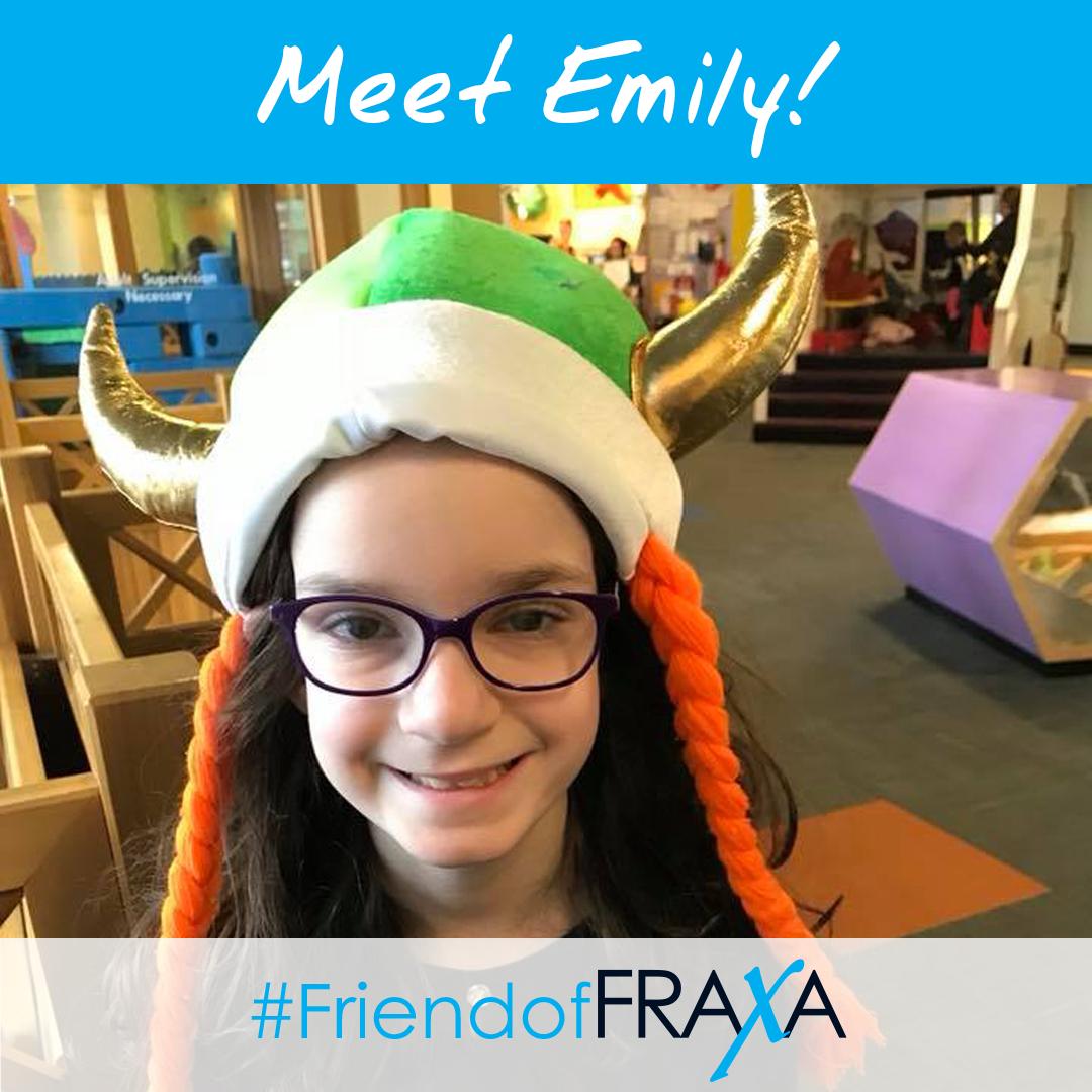 Emily #FriendofFRAXA