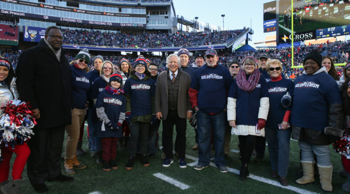 Kathan Pierce Honored as a New England Patriots Difference Maker