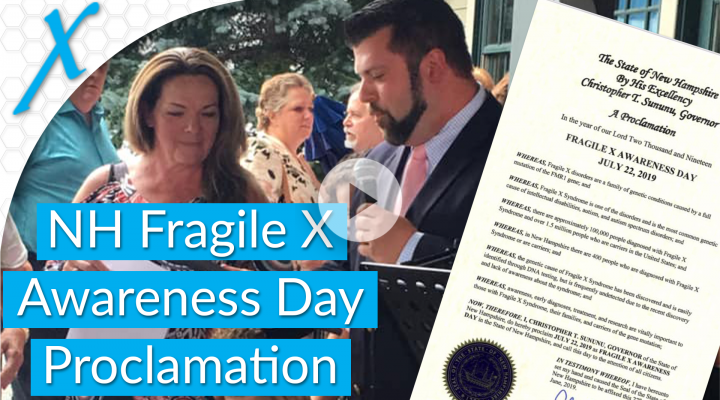 NH Fragile X Awareness Day Proclaimed at July Jam Fundraiser