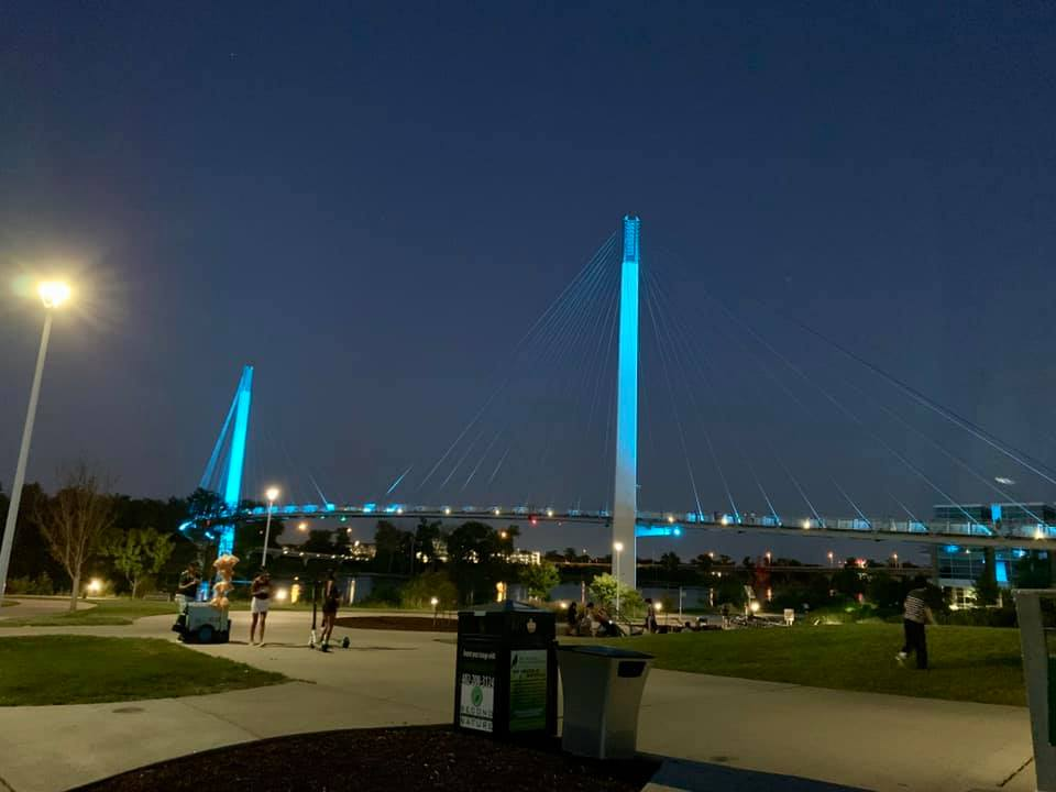Pedestrian Bridge in Omaha