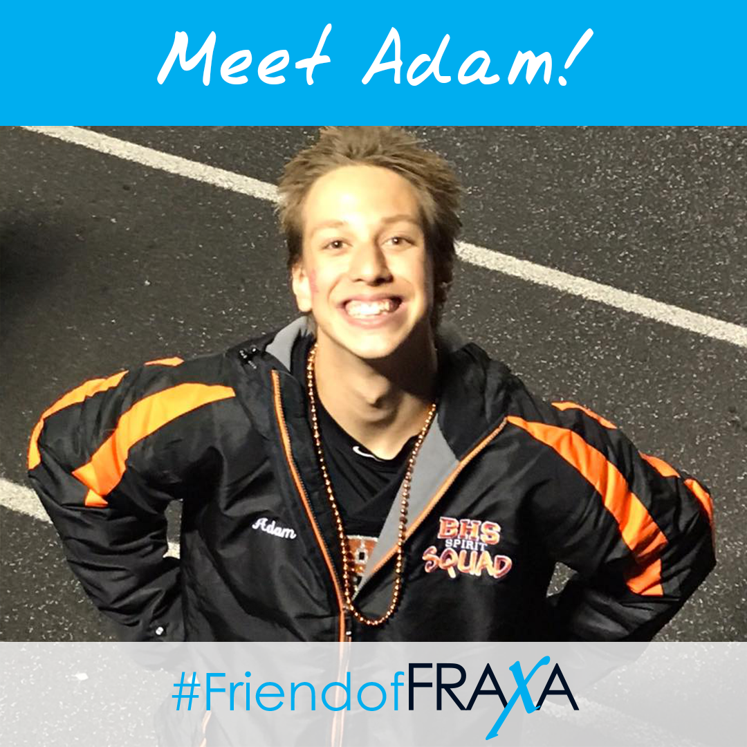 Adam #FriendofFRAXA