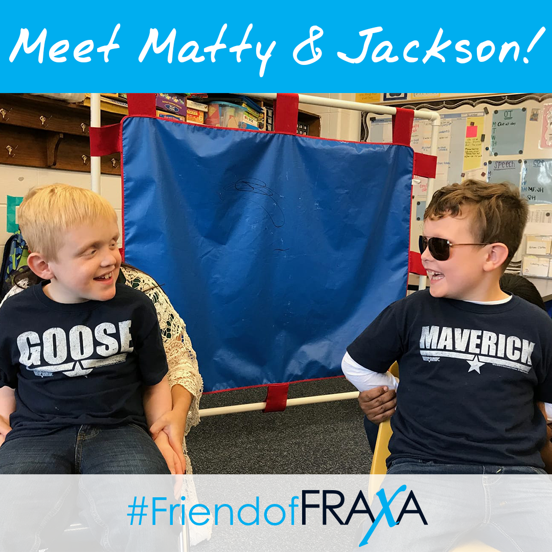 Matty & Jackson FriendofFRAXA