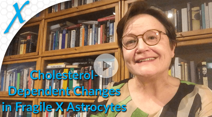 Cholesterol-Dependent Changes in Fragile X Astrocytes