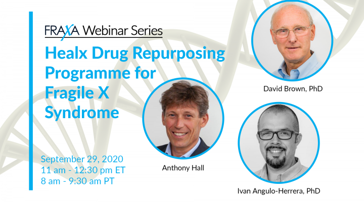 Healx Drug Repurposing Programme for Fragile X Syndrome